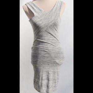 NWT Black Bead Body Con Dress